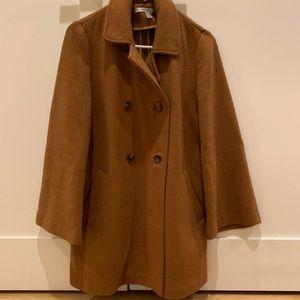 Zara Camel Coat Size: S